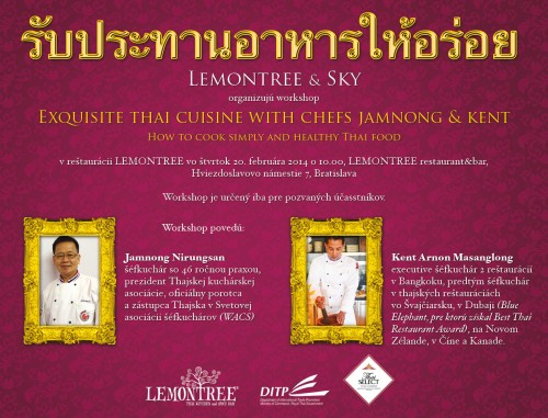 Kurz thajského varenia