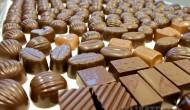Zmes čokoládových praliniek