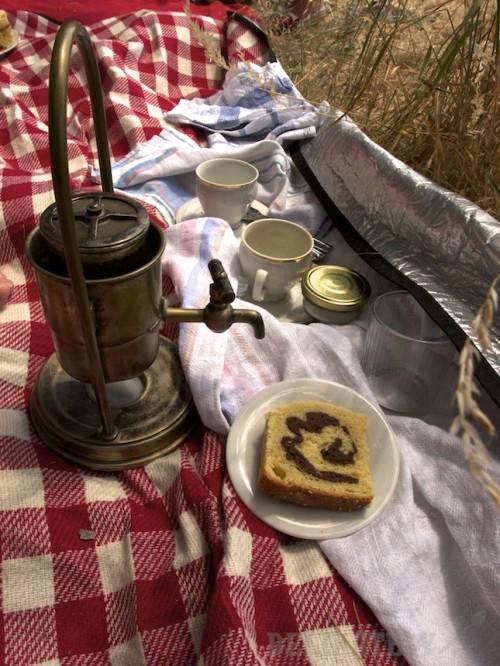 Káva a bávovka