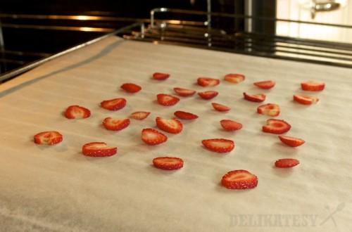 Jahody pred sušením