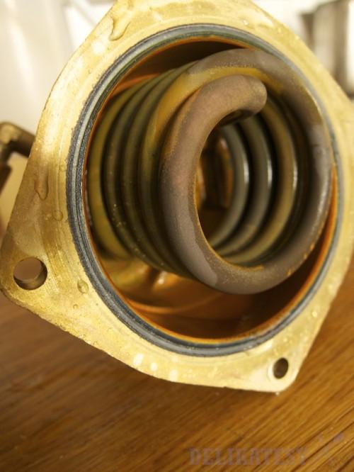 Špirála, tiež len povlak železa, inak bez vápnika