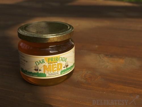 Rozmarínový med z Veruniću