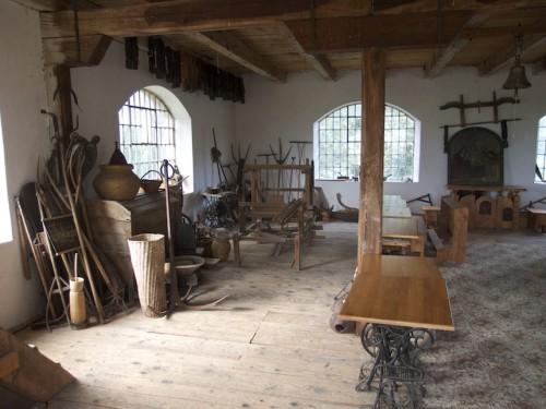 Na poschodí starého mlyna