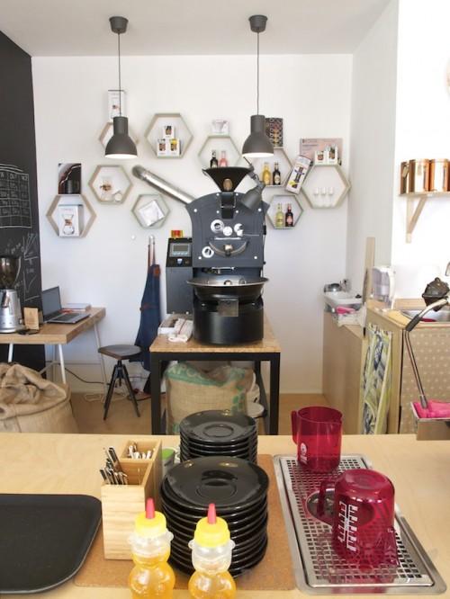 Pražiareň priamo v kaviarni