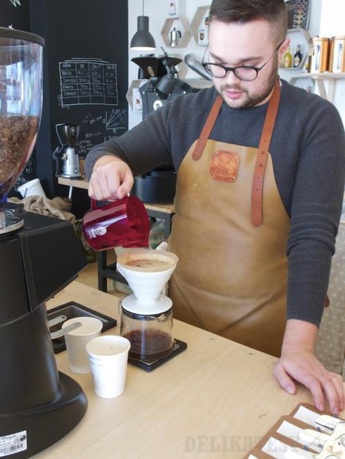 Filtrovaná káva cez V60
