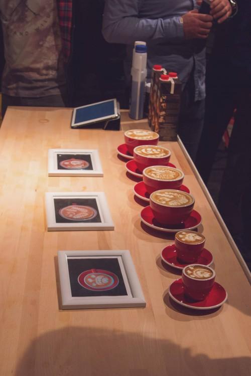 Latte art v Bystrici