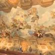 Stropná freska v kláštore
