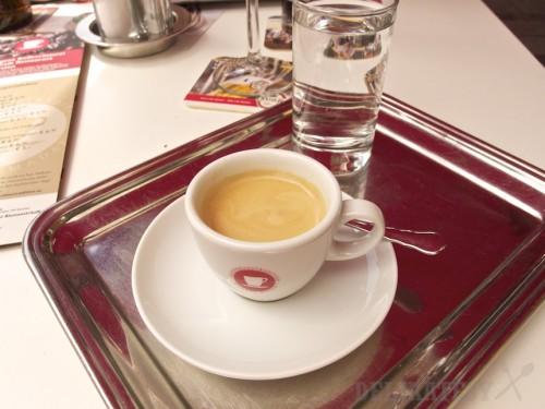 Espresso, čiže ein kleiner Schwarzer