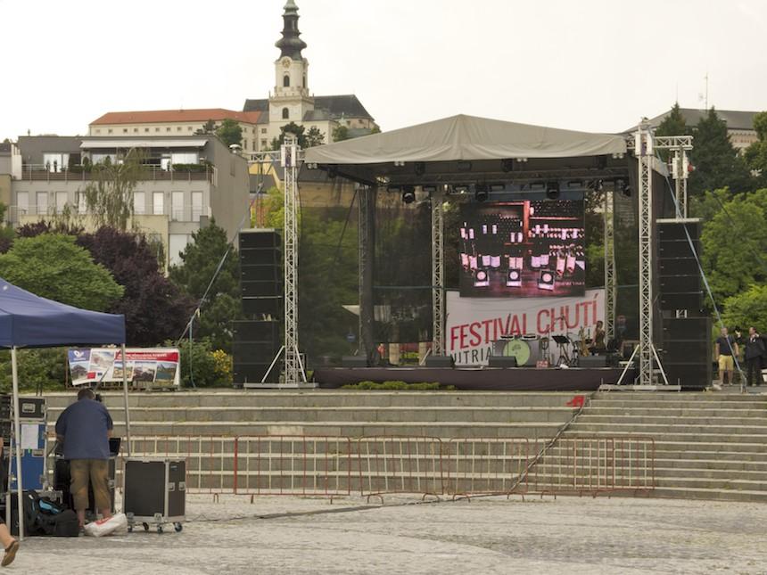 Hlavná scéna festivalu
