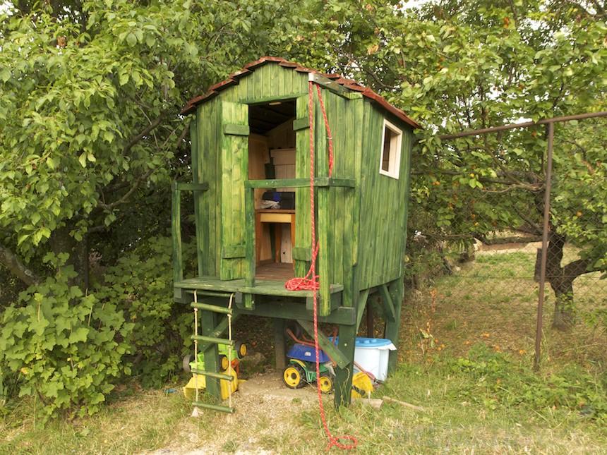 Oskarov záhradný domček