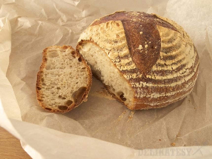 Kváskový chlieb z Fachu