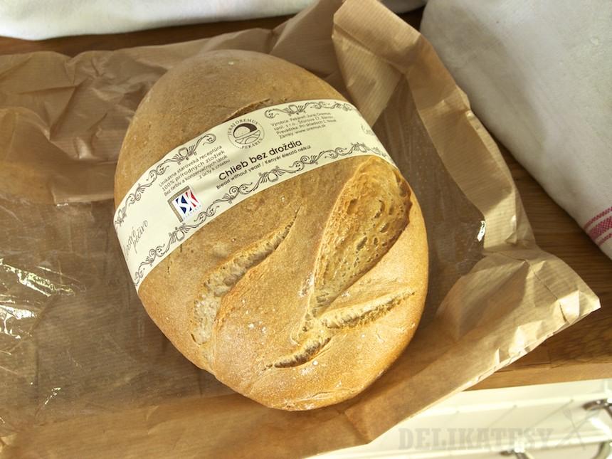 Kváskový chlieb Pekáreň Oremus Bánov