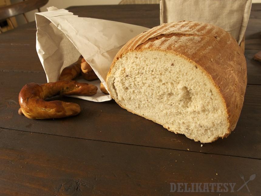 Kváskový chlieb Pekáreň Ratnovce