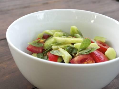 Šalát z portulaky zeleninovej