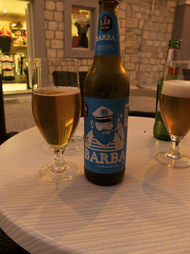Pivo Barba z LAB Split