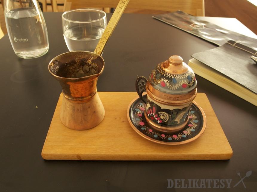Arabská káva v džezve