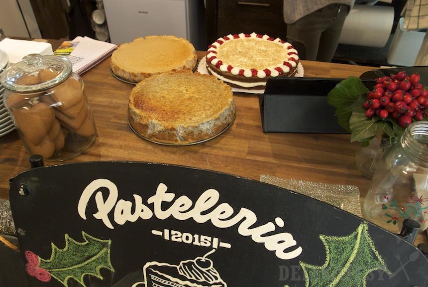 Čerstvo napečené torty