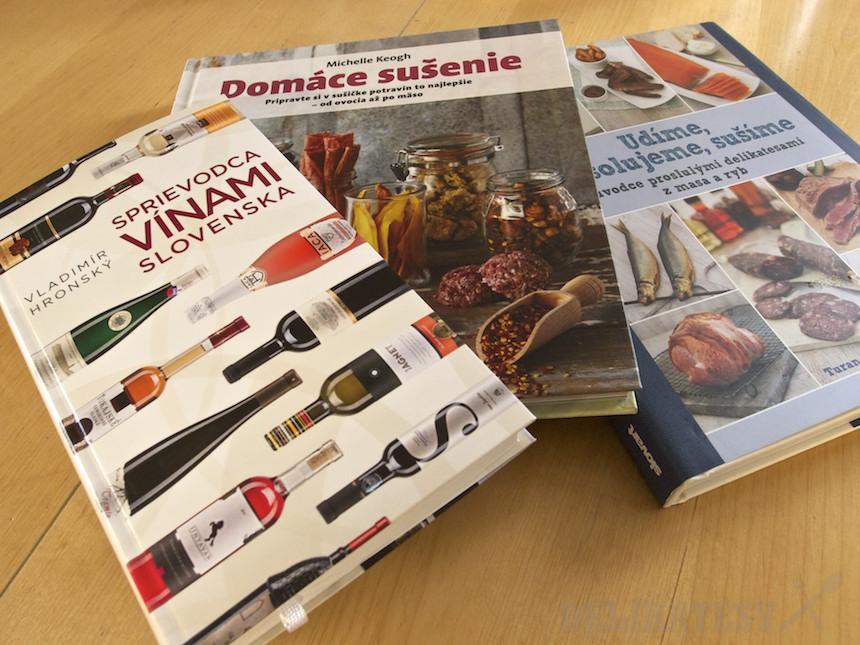 Tri knihy o jedle a gastronómii