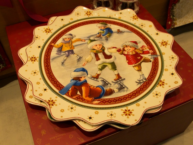 Vianočný servírovací tanier od Villeroy & Boch