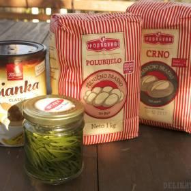 Chorvátska vitakáva, nakladaný motar a rôzne chlebové múky