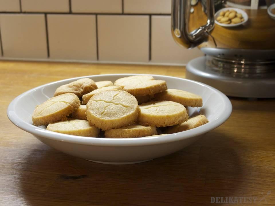 Syrovo-horčicové sušienky